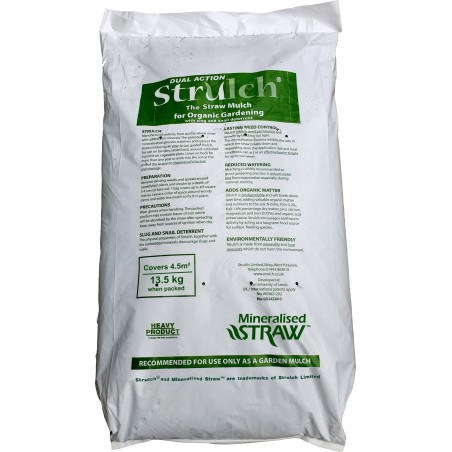 13.5kg bulk bag of Strulch garden mulch