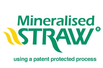 Mineralised Straw mulch